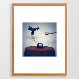 Calling Framed Art Print