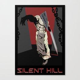 Silent Hill Propoganda Canvas Print