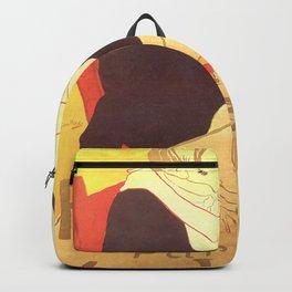 """Henri de Toulouse-Lautrec """"Reine de Joie"""" Backpack"""