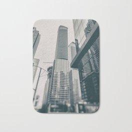 Skyscrapers Bath Mat