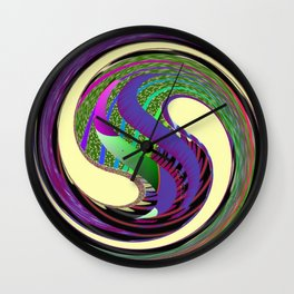 Vortices 6 Wall Clock
