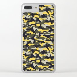 Industrial Camouflage Clear iPhone Case