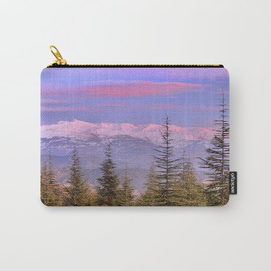 """At the mountains"" Carry-All Pouch"