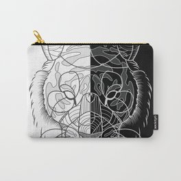 Tiger B&W Carry-All Pouch