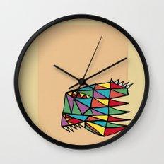 Triheaded Wall Clock