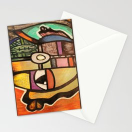 2012 to over throw the colonist in nigeria  Stationery Cards