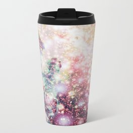 Pastel Sparkle Galaxy Africa Travel Mug