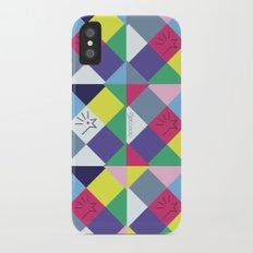 Chequered 1.0 iPhone X Slim Case