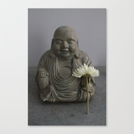 Buddha of the Flowers Canvas Print