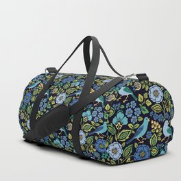 Birds and Flowers Duffle Bag