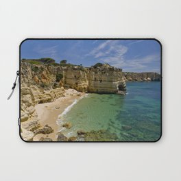Small cove on the Algarve, Portugal Laptop Sleeve