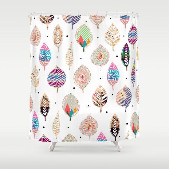 M.F.W.S. iv  Shower Curtain