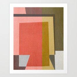 Conflicting Colors Art Print