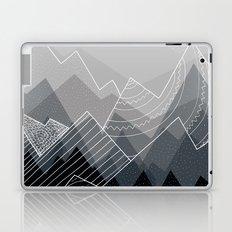 Grey Mountains Laptop & iPad Skin