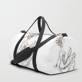 A woman as sign Cancer Duffle Bag
