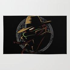 Undercover Ninja Raph Rug