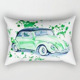 Retro car Rectangular Pillow