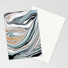 Teal Scape Stationery Cards