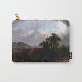 Passing Storm Clouds 1869 By David Johnson   Reproduction   Romanticism Landscape Painter Carry-All Pouch