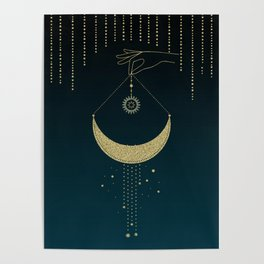The Magic Of The Moon  Poster