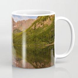 Early Summer Morning at Maroon Bells Coffee Mug