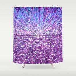 Birthday Fireworks.... Shower Curtain
