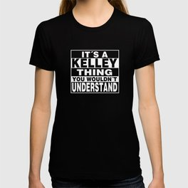 KELLEY Surname Personalized Gift T-shirt