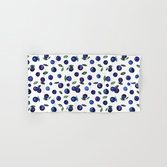 Blueberries Hand & Bath Towel