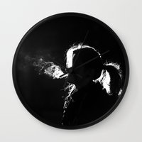 randy c Wall Clocks featuring C. by ValeriaVì