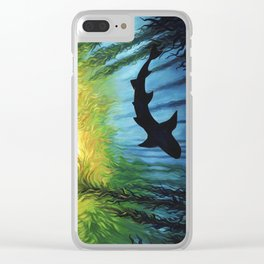 Kelp Forest II Clear iPhone Case