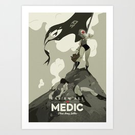 Medic Sally Art Print