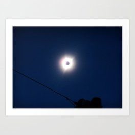 Total Eclipsy Eclipse 4 - 2017 Art Print