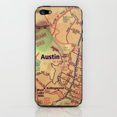 Dream Big Austin iPhone & iPod Skin