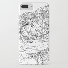 make-out? (B & W) iPhone Case