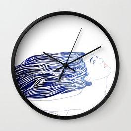 Water Nymph LIV Wall Clock