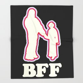 Leia & Chewie: BFF Throw Blanket