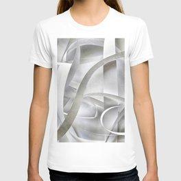 Paper pattern T-shirt