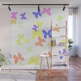 Summer Butterflies Wall Mural