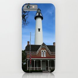 ST. SIMONS LIGHTHOUSE - Golden Isles iPhone Case