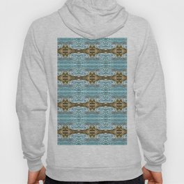 166 - water and sand abstract pattern Hoody