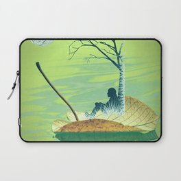 Stand beside me when I leave Laptop Sleeve