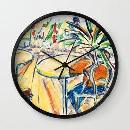 X voYages de Zed (toile 17 - série 1) Wall Clock