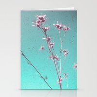 alone Stationery Cards featuring Alone by Cassia Beck