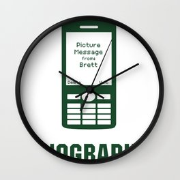 4NOGRAPHY Wall Clock
