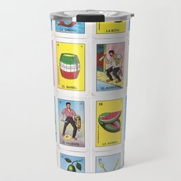 Lotería Cards Travel Mug
