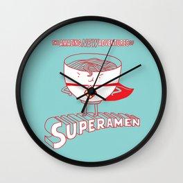 Superamen Wall Clock