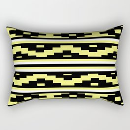 Etnico Yellow version Rectangular Pillow