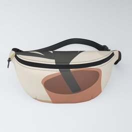 Abstract Terracotta Vase Fanny Pack