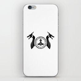 Norse Dragon - Mjolnir iPhone Skin