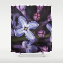 Lilacs close up Shower Curtain